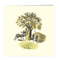 """Deckchair by Eric Ravilious for his """"Garden"""" range for Wedgwood"""