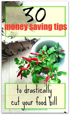 money saving tips food