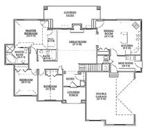 Traditional Style House Plan - 3 Beds 2.5 Baths 1673 Sq/Ft Plan #945-11 - Dreamhomesource.com