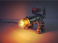 Cheap light lamp led, Buy Quality light code directly from China light lamp Suppliers: HOT Luxury Antique Vintage Desk Tble Lamp Light Manual DIY Handmade For Loft Cafe Bar Study E27 Robot Scorpion fire sal