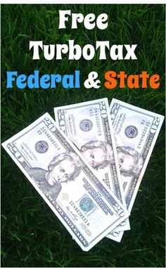 FREE TurboTax for Federal AND State!!