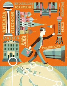 Banque de France #3 by Gwen Keraval, via Behance