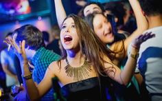 the best student party in Prague at Good Monday, Best Club, Good Student, Main Attraction, In The Heart, Mondays, Prague, Crowd, Mad