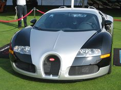 Bugatti Veyron at the 2009 Glenmoor Gathering of Significant Automobiles