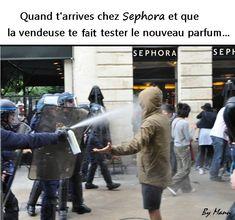 Quand t'#arrives chez sephora et que la #vendeuse te fait #tester le nouveau #parfum !!! #blague #drôle #drole #humour #mdr #lol #vdm #rire #rigolo #rigolade #rigole #rigoler #blagues #humours #france #paris #google #twitter #youtube #facebook #pinterest #marseille #europe Funny Jokes, Hilarious, Good Good Father, Funny Comics, Best Memes, Webtoon, Comic Strips, Troll, Picture Video