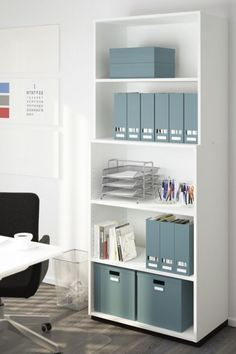 Home Office Organization Storage ; Home Office Organization – home office organization ideas Ikea Home Office, Home Office Storage, Home Office Design, Home Office Furniture, Office Desk, Office Setup, Office Chairs, Bedroom Furniture, Furniture Design