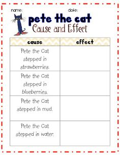 First Grade Fresh: Search results for Pete the cat
