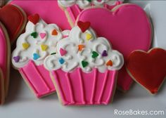 Cupcake cookies ❤️