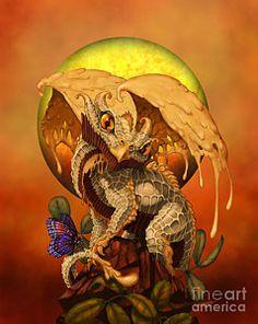 Peanut Butter Dragon Print by Stanley Morrison