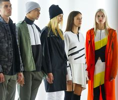 Fashion from the UAS collection from Under Armour and Tim Coppens is modeled…