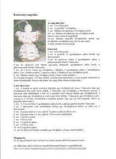 Horgolásról csak magyarul.: ANGYALKA RÉSZLETES LEÍRÁSSAL Crochet Angel Pattern, Crochet Angels, Christmas Crafts, Christmas Decorations, Crochet Projects, Knit Crochet, Diy And Crafts, Knitting, Creative