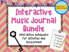 Interactive notebooks for the elementary music classroom.