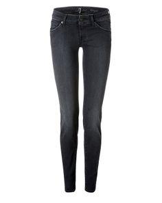 SEVEN FOR ALL MANKIND Olivya Skinny Jeans @STYLEBOP.com