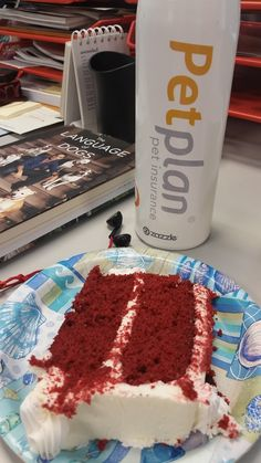 At Petplan pet insurance, you can have your cake - and eat it, too! Office birthday pawrties are just one of the pawesome purrks of working here - come join our team to see the others!