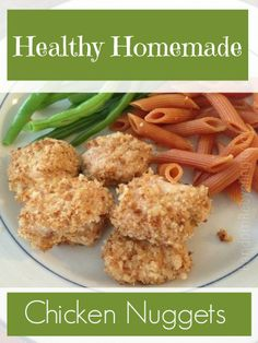 Healthy Homemade Chicken Nuggets | Random Recycling: Green Living for Modern Families