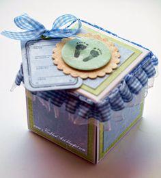 Hummingbird Workshop: 217! Exploding box z konikiem na biegunach