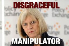 Political prostitution! Theresa May calls for 'snooper's charter' to be revived after Woolwich attack.