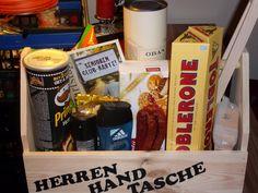 """Die """"Herren-Handtasche"""" mal ohne Bier."""