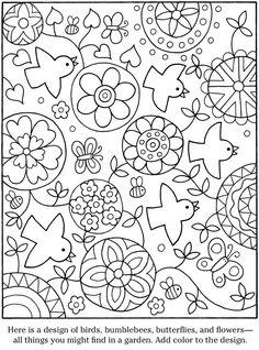 Garten Farbe Blatt 4801