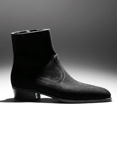 Massaro Custom Made Shoes - suede boot France