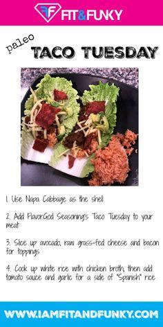 How to Make Taco Tuesday Paleo! | paleo | healthy recipes