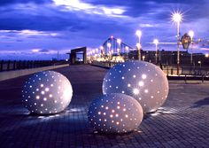 Light Art - Glamrock, Blackpool by Peter Freeman. A Guide to Implementing Successful #LightingLandscapes within the Public Realm.