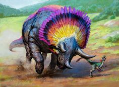 Goring Ceratops by Qrumzsjem