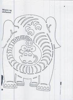 olifant met muis