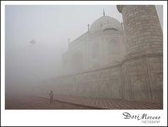 Taj Mahal on a misty day, Agra, India Misty Day, Agra, Taj Mahal, India, Building, Photography, Travel, Goa India, Photograph