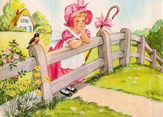 Little Bo Peep by Eulalie