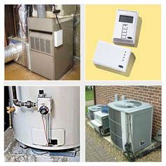 Furnaces on average last 15-20 years, heat pumps 16 years, and air conditioning units 10-15 years. Tankless water heaters last more than 20 years, while an electric or gas water heater has a life expectancy of about 10 years. Thermostats usually are replaced before the end of their 35-year lifespan due to technological improvements.