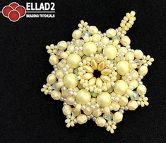 Jonquil is a hue of yellow. It is the color of the interior of the central cylindrical tubular projection of the jonquil flower. Beading Tutorial for Janquil Pendant is very detailed, easy to follow, step by step, with clear beading instructions and color photos of each step.