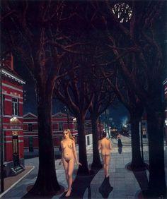Street Life by Paul Delvaux