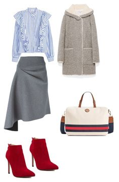 """""""Polish office look"""" by nataliya-mostriansky on Polyvore featuring DKNY and Tommy Hilfiger"""