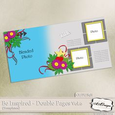 Be Inspired - Double Pages Vol.6 by AADesigns