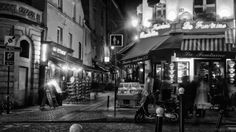 "Photo ""rue mouffetard la nuit"" by Pedro Souza 