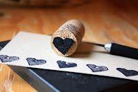 diy cork stamps