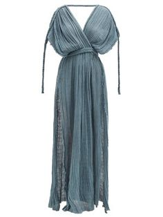 Boho Fashion, Fashion Dresses, Retro Fashion, Fashion Design, Beach Wear Dresses, Summer Dresses, Macrame Dress, Fashion Terms, Estilo Hippie
