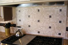 Backsplash Tiles Design for Kitchen
