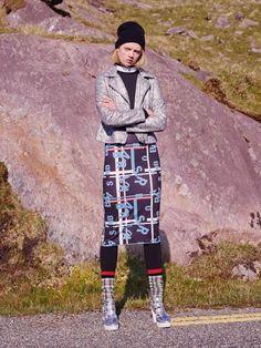 Jacket, Jumper, Shirt, Dress, Leggings, Shoes, Hat and Socks from Penneys