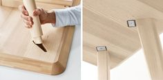 Let's get into table design for a second. If you look at your average dining table, you'll see most have aprons. The aprons prevent wracking and, in the case of solid wood tops, help prevent the tops from warping. Look underneath the average dining table and you'll see the aprons