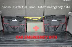 Your Car Needs Emergency Items For Survival - Food Storage Moms Camping Survival, Survival Prepping, Survival Skills, Survival Gear, Emergency Supplies, Emergency Kits, 72 Hour Kits, Emergency Preparation, Disaster Preparedness