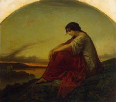 Disillusion by Edouard Hamman, ca. 1851 #Victorian