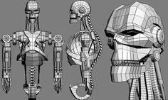 Syndicate Robot 3DSMax on Behance