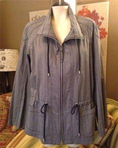 Auth Lafayette 148 Viscose Cotton Spandex Coat Jacket Size 10 | eBay