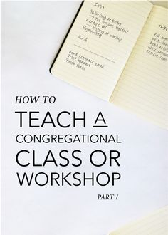 How to Teach a Congregational Class or Workshop (Part II): a few practical teaching tips for keeping your cool and creating a fun, meaningful, engaging learning experience for your participants Free Teaching Resources, Teaching Tips, Music Ministry, Library Organization, Church Music, Music School, Teaching Music, Music Lessons, Music Education
