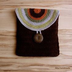 Hey, I found this really awesome Etsy listing at https://www.etsy.com/listing/89755261/bag-handmade-crochet-bag-brown-purse