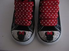 Minnie Bling Shoes!!