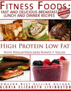 FREE e-Cookbook: Fitness Food Recipes {with Weight Watchers Points Plus values}