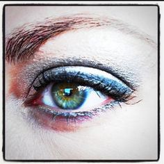 Love Her Eye Make Up, But Most Of All, Love Her Eyes.